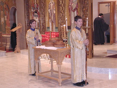 Community Life - Saint Nicholas Vespers - December 5, 2005
