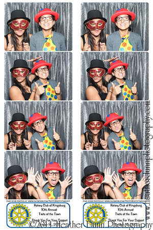 Kingsburg Rotary Taste of the Town - October 14, 2012 - Photo Booth Strips