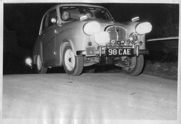 1958-59 rally Austin A35