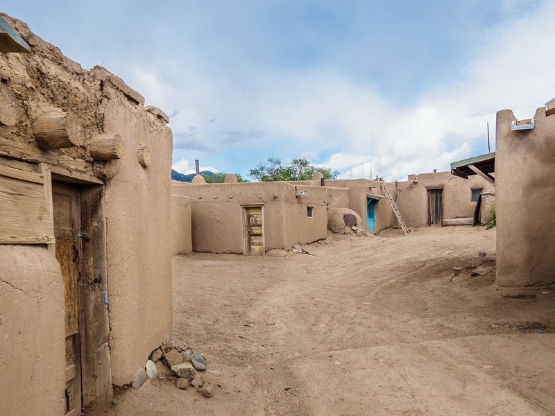 Scene from Taos Pueblo, Taos, New Mexico