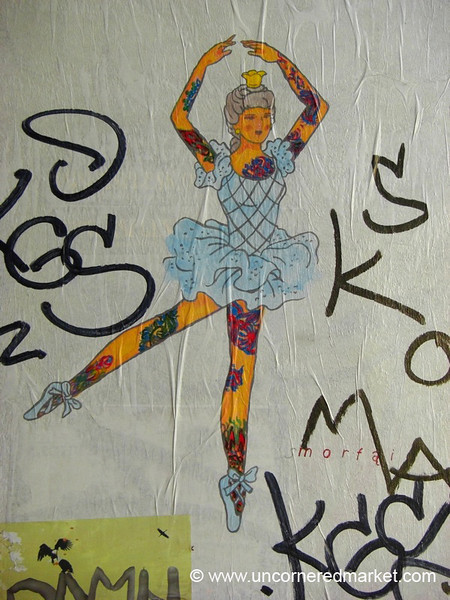 Tattooed Ballerina - Vilnius, Lithuania