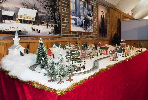 11/28/18 Wesley Bunnell | Staff Rooms are in the middle of being redesigned at the New Britain Youth Museum at Hungerford Park under the direction of new Executive Director Tom Pascocello featuring STEM themes combined with a natural background. A winter seasonal exhibit features a toy train village.