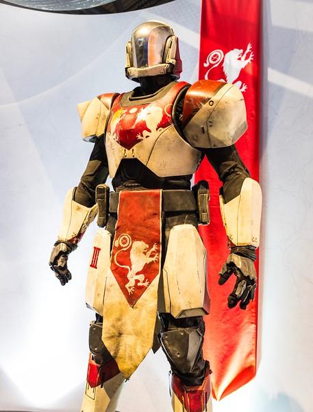 Destiny 2 character at Gamescom 2017