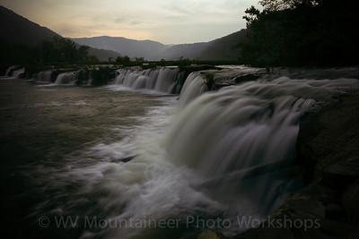 West Virginia Photography Workshops - West Virginia Mountaineer Photography Workshops - 540-309-0196 Sandstone Falls Hinton WV - Babcock State Park