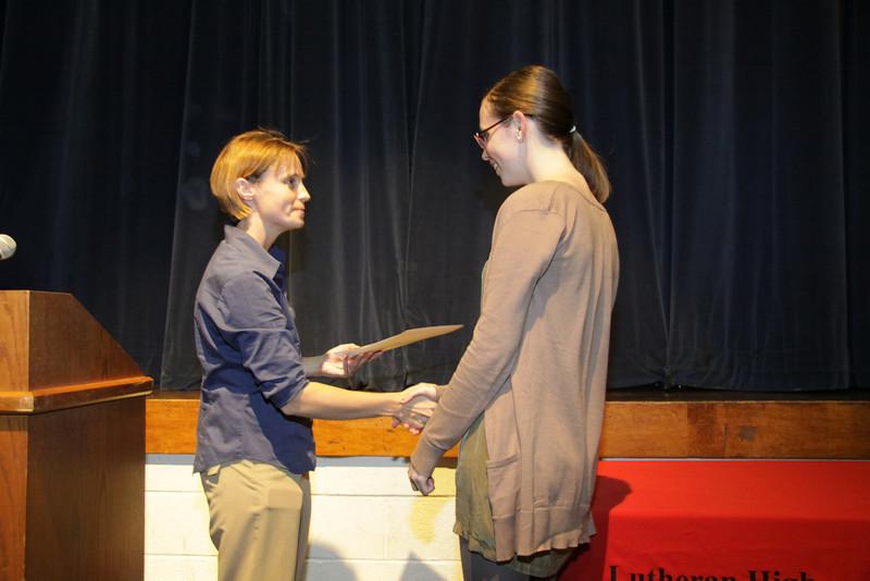 Awards Night 2012 -  - Outstanding Achievement in Advanced Art