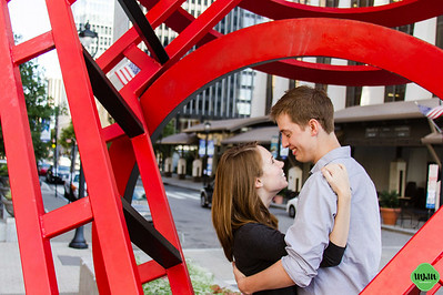 Kevin & Virginia | A Downtown Raleigh Engagement