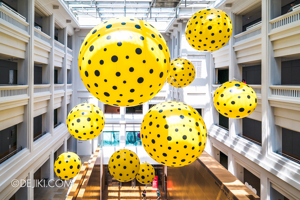 National Gallery Singapore - Yayoi Kusama: Life Is The Heart of A Rainbow / Dots obsession 1