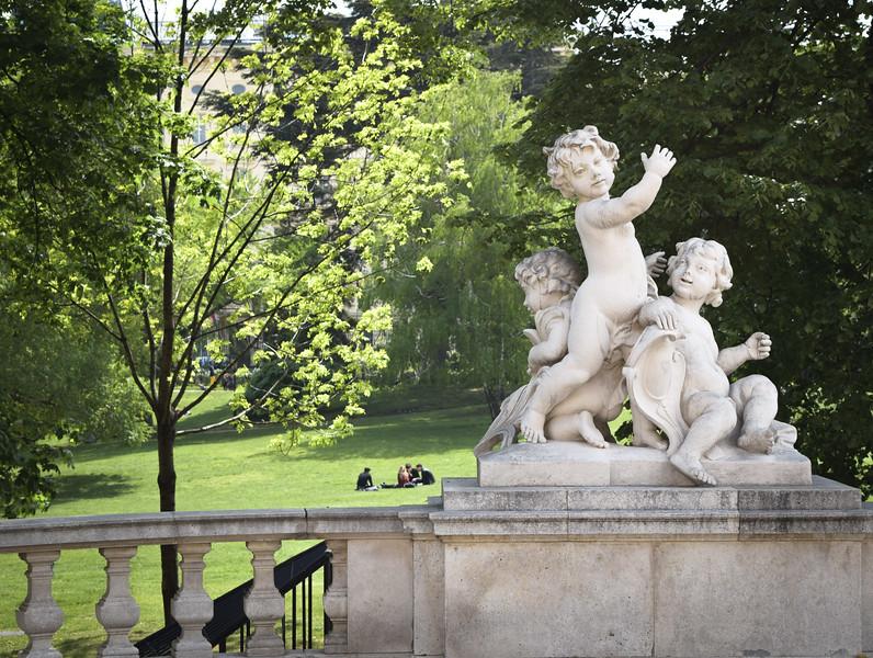 Vienna: Burggarten