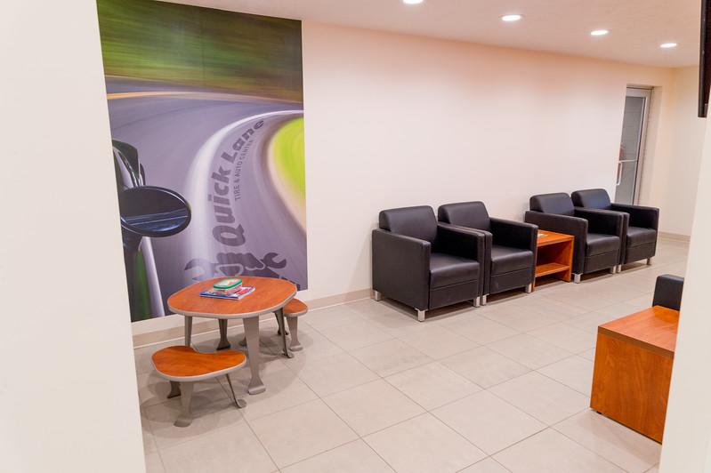 Quick Lane lounge 3 of 3
