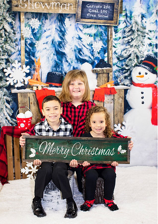 Bohensky Family Christmas 2018