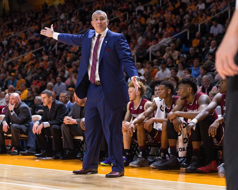 NCAA Basketball 2017: South Carolina vs Tennessee JAN 11