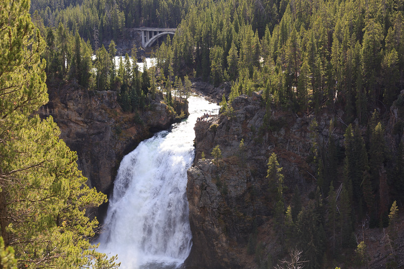 Upper Falls of the Yellowstone 001