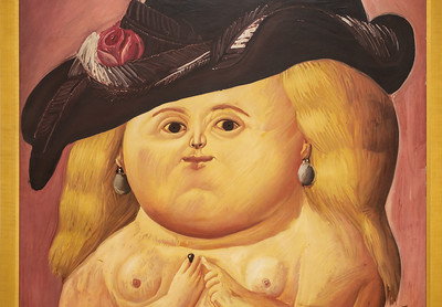 Mrs. Ruben '64 by Botero