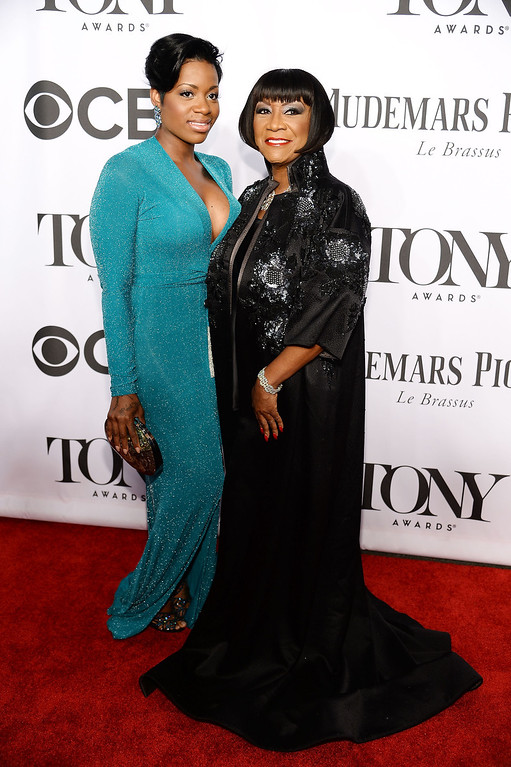 . Fantasia Barrino (L) and Patti Labelle attend the 68th Annual Tony Awards at Radio City Music Hall on June 8, 2014 in New York City.  (Photo by Dimitrios Kambouris/Getty Images for Tony Awards Productions)