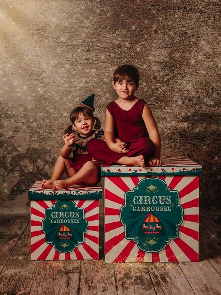 Luca y Emma mini Navidad
