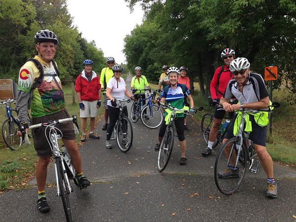 Anthem Bike Trip to Walker, MN Sep 2013