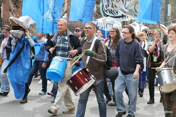 DUMP DOMINION: A march for our rivers! Richmond Va. 2/20/16