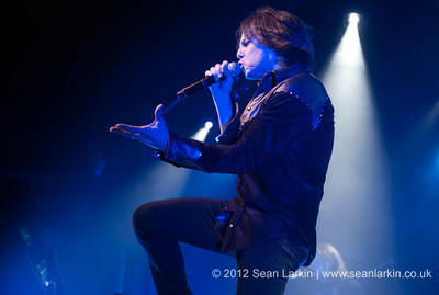 Europe - Rock City, Nottingham - 27th November 2012