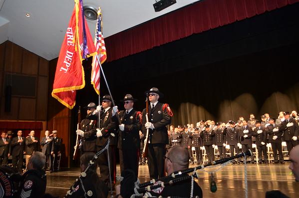 March 27, 2015 - Bergen County, NJ Firefighter Graduation