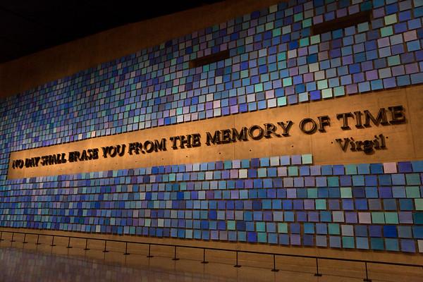 9/11 Museum and Memorial, July 2014