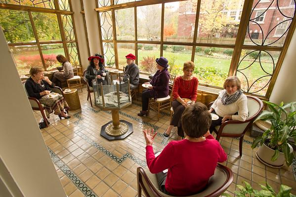 11/6/14 Buffalo Federation of Women's Clubs Tea