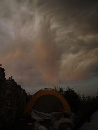 Zhenbiancheng great wall camping【spring]