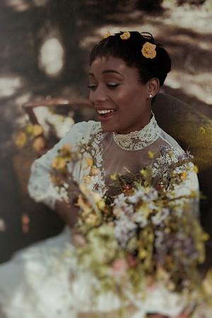 Foraged Bridal Shoot
