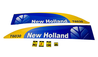 FORD NEW HOLLAND T6030 SERIES BONNET DECAL SET