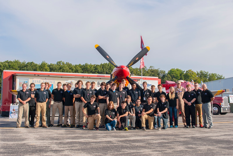Students from the Toledo Public Schools Aviation Center