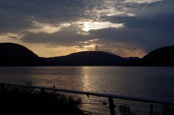 Peekskill Riverfront Sunset