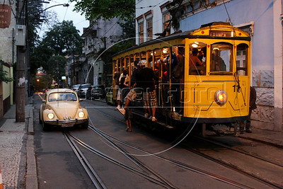 Santa Tereza tipical tramway