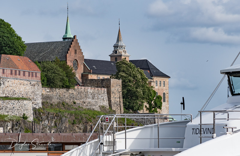 Fortress overlooks the harbour
