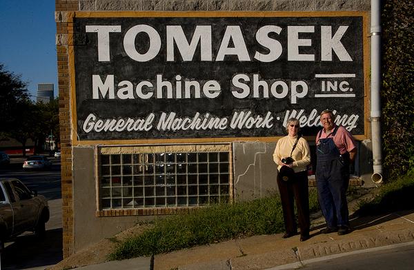 Tomasek Machine Shop Oct 9