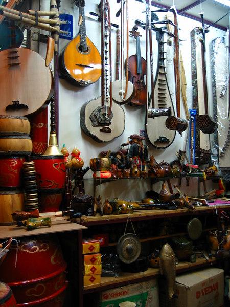 instrument shop.. ha noi