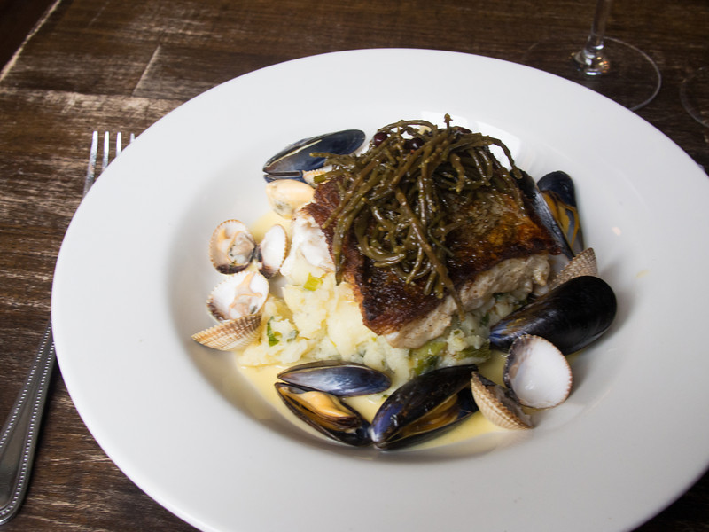 cod on champ with mussels cockles pickled samphire and smoked lemon butter.jpg