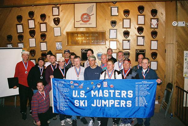 Masters Ski Jumping