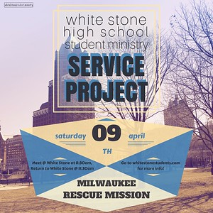 milwaukee rescue mission service project (april 2016)