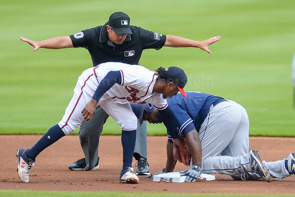 6/16/18 Atlanta Braves vs. San Diego Padres