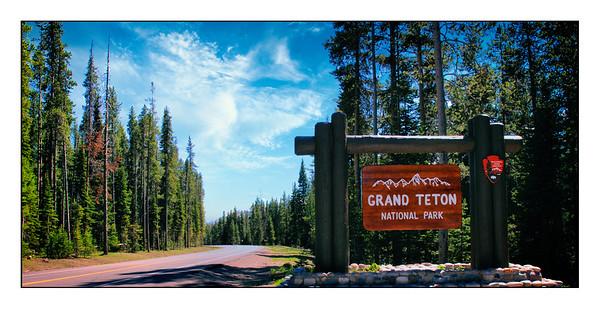 Grand Teton National Park - USA - Over The Years.