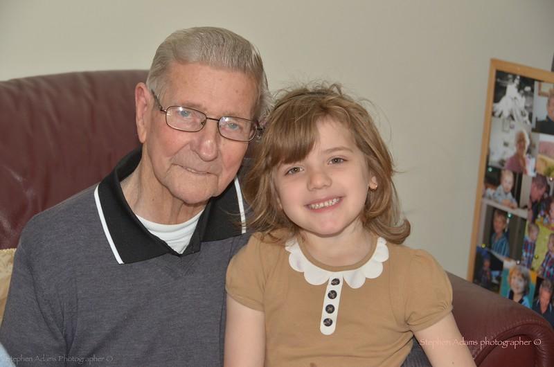 Grandpa & Emma