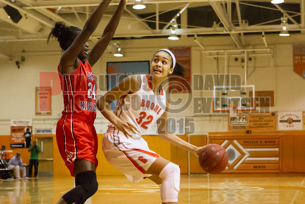 Lake Highland Prep @ Boone Braves Girls Varsity Basketball - 2014