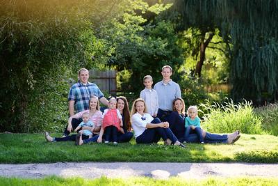 Jon and Diana Wilson Extended Family