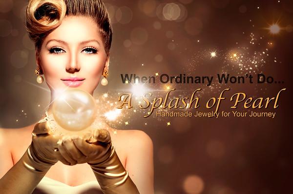 A Splash of Pearl - Elegant Woman