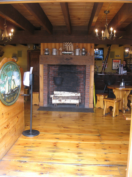 Interior of the Sons of Liberty Tavern.