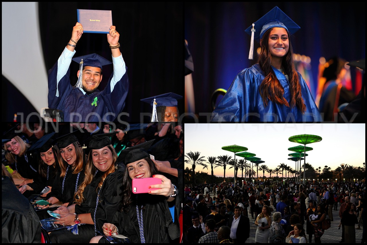 "<center><span> <span style=""font-size: 125%;color: #CC6633;"">Broward College 2014 Graduation</span><br> <span style=""font-size: 90%;color: #CC6633 ;"">BB&T Center 