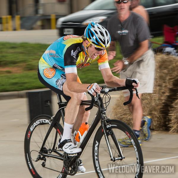 Men 40-49.  2013 NC State Crit Championships. Kernersville, NC. Photo by Weldon Weaver.