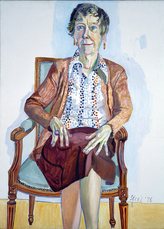 . Alice Neel�s 1976 �Portrait of Ellen Johnson� is on view through May 27 in the exhibition �This Is Your Art: The Legacy of Ellen Johnson,� at the Allen Memorial Art Museum in Oberlin. For more informatino, visit www2.oberlin.edu/amam/ThisisYourArtTheLegacyofEllenJohnson.html. (Submitted)