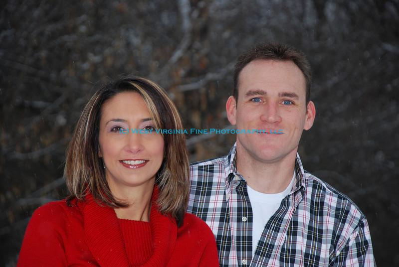 Christine and Chad.