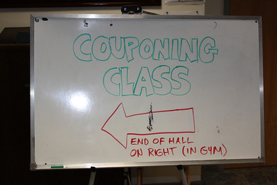 Coupon Class, Salvation Army, Tamaqua (7-14-2011)