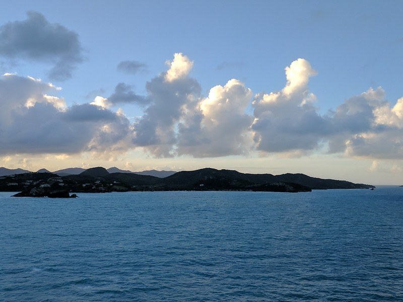 Friday, Jan 13 - Arriving Antigua